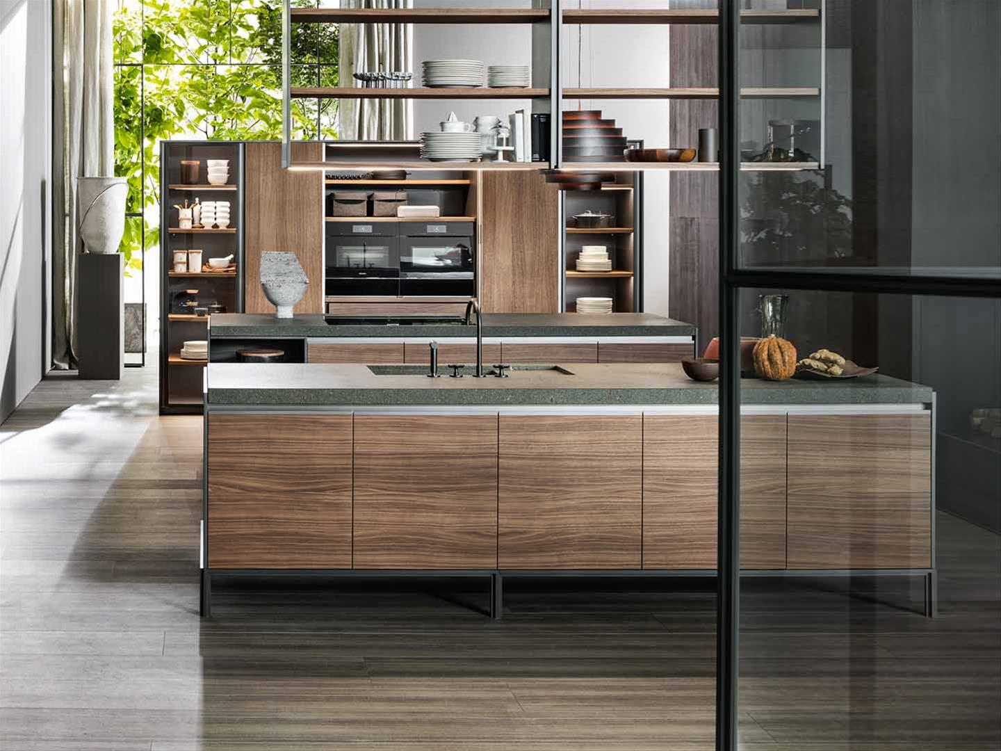 Le essenze per cucine di design in legno dada for Design italiano arredamento