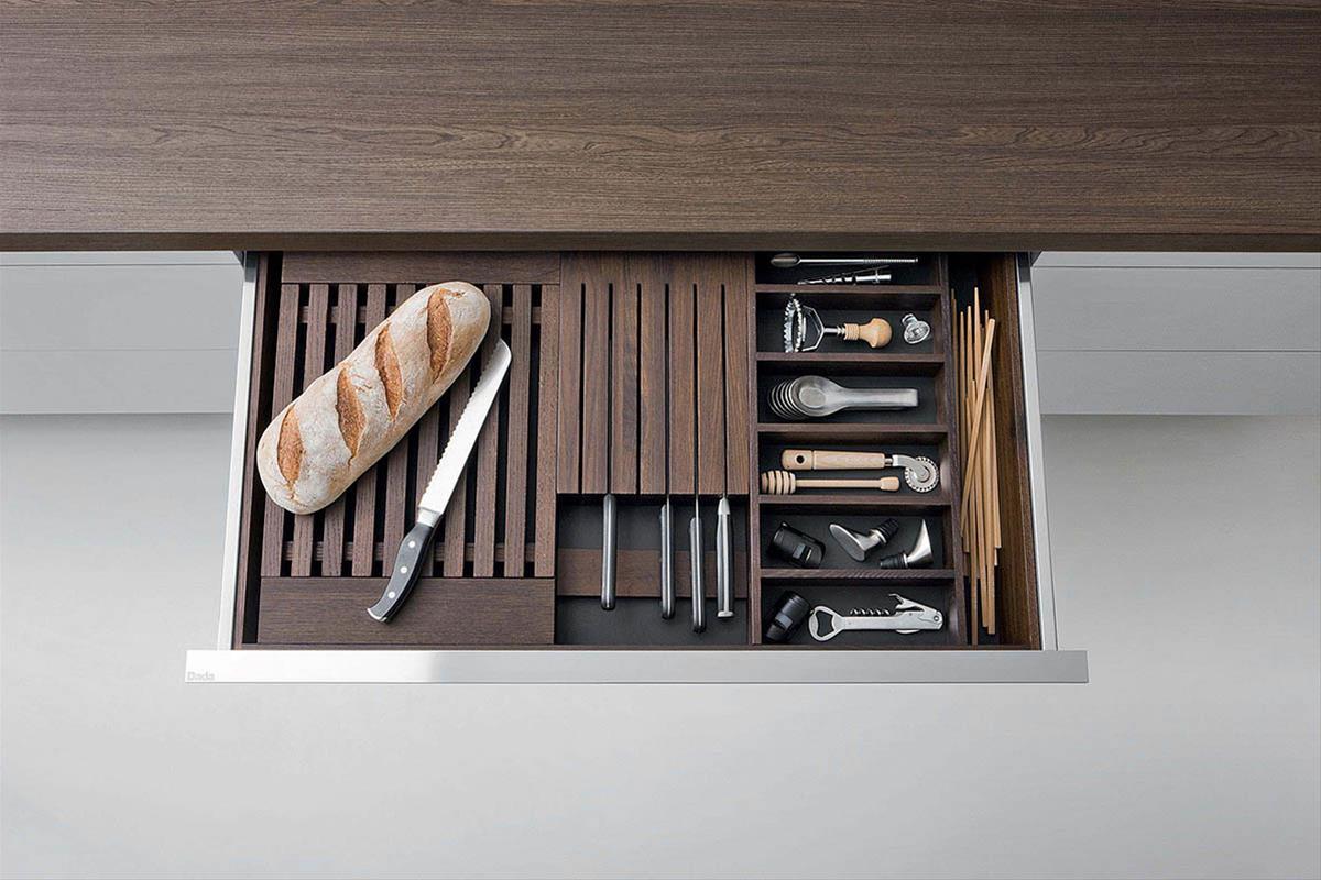 Gli accessori dada per una cucina di design dada - Accessori per cucina country ...