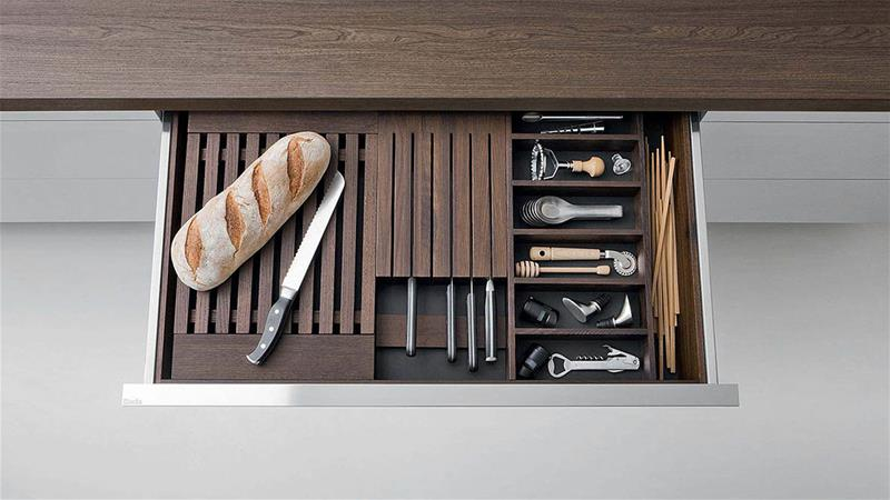 design kitchen accessories Dada bread cutting wooden