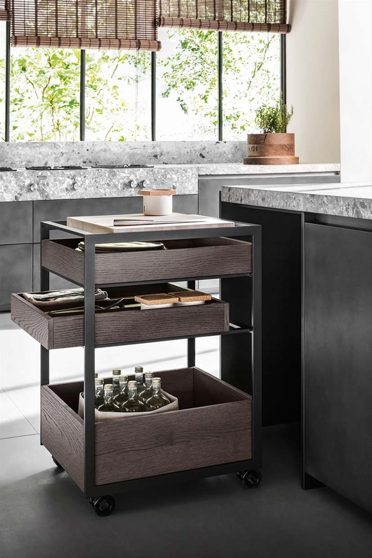 Gli accessori cucina dada il meglio per ogni cucina - Carrelli cucina design ...