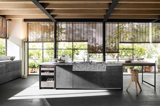 the best modern italian kitchens VVD by Vincent Van Duysen made with stone wood and metal