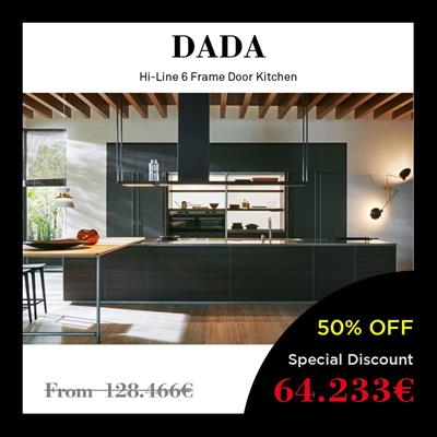 dada kitchen price italian discount offer best high-end molteni grouphi-line 6 frame design showroom