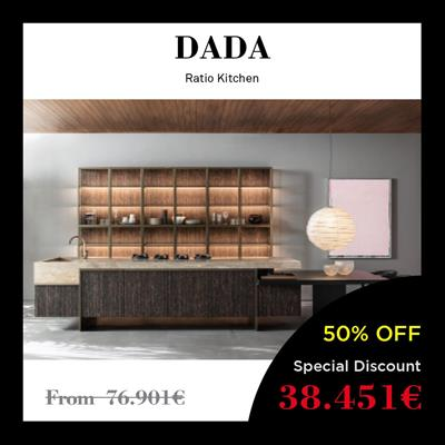 dada kitchen price italian discount offer best high-end molteni group ratio design showroom milan