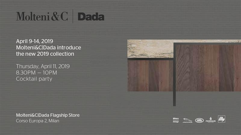 Fuorisalone 2019 Molteni&C Dada Durini Night Milan Design Week Durini District Molteni Group